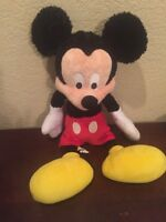 "Vintage Disney 18"" Mickey Mouse Plush Disneyland Parks"