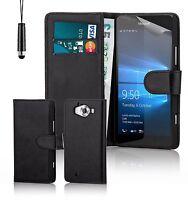 étui housse etui en cuir d'unité centrale de Portefeuille pour Lumia téléphones