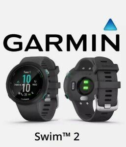 Garmin Swim 2 Advanced Swimming Smartwatch Wrist-based HR Slate Pool/Open Water*