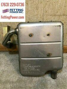 Genuine Onan Cummins Exhaust Muffler   155-3435-02 A030X278   Fits Onan KV 2.8
