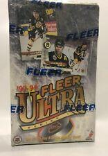 1993 Fleer Ultra series 1 NHL Hockey Card Box 36 packs Factory Sealed