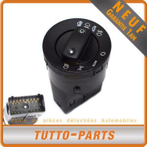 Interrupteur Bouton Phares Commodo Audi A4 S4 - 8E0941531A 8E0941531B 8E0941531D