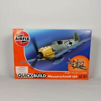 Airfix J6001 Quick Build Messerschmitt Bf109e Aircraft Model Kit BN