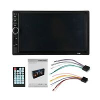 7018B Double 2 Din Car Video Player 7 inch Press Screen Multimedia player MP5 O3
