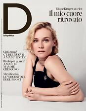 DIANE KRUGER D REPUBBLICA ONLY ONE DAY MAGAZINE ITALY SEPTEMBER 2017 RARE