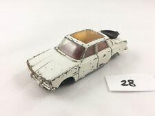 RARE VINTAGE CORGI TOYS # 275 ROVER 2000 TC ORIGINAL DIECAST CAR 1970-71 WHITE