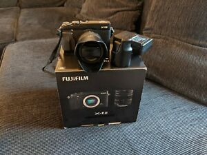 Fuji xe2 camera with 16-50mm lens