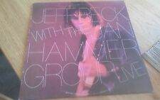 Jeff beck with the jan hammer group live lp france nemperor record 50361