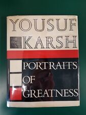 Portraits of Greatness by Yousuf Karsh SIGNED 3rd Ed HCwDJ 1961 w Advertisement