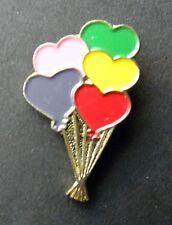 Party Balloons Birthday Novelty Fun Lapel Pin Badge 7/8 Inch