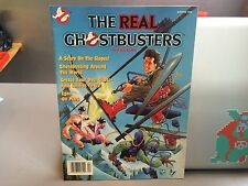RARE THE REAL GHOSTBUSTERS MAGAZINE WINTER 1990 WITH POSTER VINTAGE RARE