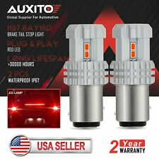 AUXITO Tail Brake light 1157 RED LED Bulb 3020SMD FOR 1999-2006 JEEP TJ WRANGLER