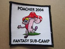 Fantasy Poacher 2004 Cloth Patch Badge Boy Scouts Scouting L3K E