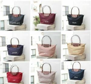 Womens New Longchamp Le Pliage 1899 Nylon Tote Handbag Shoulder Bag Size Large