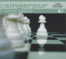 Singer Pur - Time Piece - 4 CD, Orlando Di Lasso, Nordisk Vokalmusik u.v.m. NEU