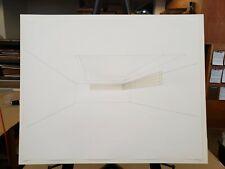 Loren Madsen Mixed Media on Paper 1979 Floating Corner Wright State University