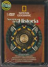 *(SET) National Geographic: Secretos de la Historia 2 (5 DVD)