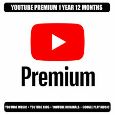 Youtube 12 months Premium   NEW WORLDWIDE