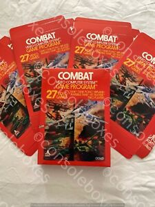 "Atari 2600 VCS ""Combat"" Cartridge EMPTY BOX ONLY New Superb Repro"