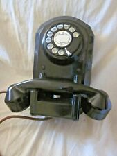Automatic Electric Wall Bakelite Telephone Model 50.