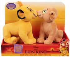 "Disney's New The Lion King Kissing Plush Simba & Nala 10"" Stuffed Toy NEW"