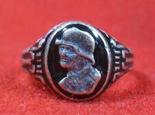 German Ring military Helmet Soldier Stalingrad ww1 ww2 WWII WWI