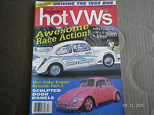 HOT VWs MAGAZINE (AND DUNE BUGGIES).DECEMBER 1992..HOT VW'S, SUPER TECH, EVENTS