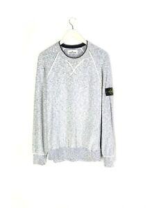Stone Island Blue Crewneck Sweatshirt Size XL