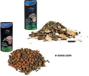 Naturfutter-Mix & Futterpellets Landschildkröten 3 x 250 ml Schildkröte Futter