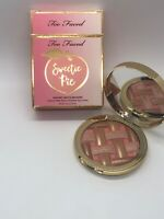 Too Faced - Sweetie Pie Radiant Matte Bronzer – Peaches and Cream Collection NIB