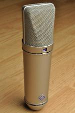 Neumann U87 Ai U 87 Mic Microphone w/Original Wood Case & Shockmount SN: 130206