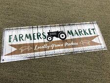 Farm Farmers Market Metal sign