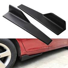 2x Car Side Skirt Splitters Canard Rocker Diffuser Add-on Wing Scratch Resistant