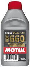 Motul RBF660 Fully Synthetic Racing Motorsport Brake Fluid Dot 4 500ML