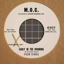 Four Kings Early in the Morning / I want to Be There 45 RPM WLP MOC 45-655