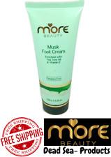 More Beauty- Dead Sea Musk Foot Cream Enriched with Tea Tree Oil & Vitamin E 100