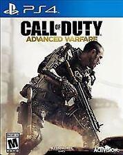 Call of Duty: Advanced Warfare (Sony PlayStation 4, 2014) NEW FACTORY SEALED!!