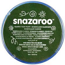 Snazaroo 18ml Face Paint Palette Tub 1 xDark Green