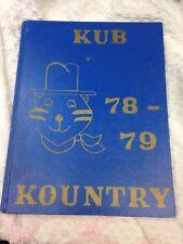 Kraemer Junior Jr High School Placentia California 1978 -79 Yearbook Annual