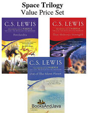 Space Trilogy -value set Out of the Silent Planet,Perelandra,Hideous.. C S Lewis