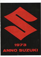 Pubblicità epoca 1972 MOTO MOTOR SUZUKI reklame advertising publicitè werbung