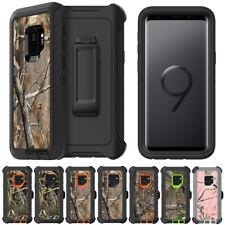 For Samsung S9 S10 S10E S8 Note 9 8 Defener Camo Case Cover, Clip its OTTERBOX
