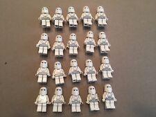 LEGO Snow Trooper Lot of 20 Star Wars Minifigure minifig Huge LOT Clone T408