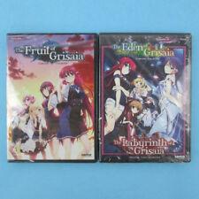 The Fruit + Eden + Labyrinth of Grisaia Season 1-2 + OVA (6-Disc DVD) R1 Lot NEW