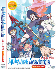 DVD Anime Little Witch Academia ( Vol. 1-25 End ) English SUB + Free Shipping