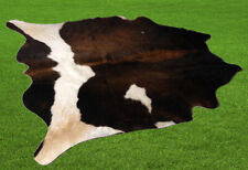 """100% New Cowhide Rugs Area Cow Skin Leather (52"""" x 53"""") Cow hide SA-2254"""