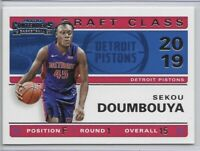 2019-20 Contenders Sekou Doumbouya Draft Class Of 2019 Insert SP No. 15