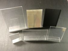 Plastic Picture Holders (Six miscellaneous sizes)