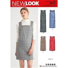 New Look New Look Pattern 6572 Misses' Jumper Dress