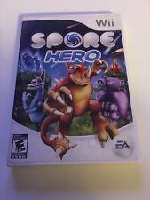 Spore Hero (Nintendo Wii, 2009)CIB